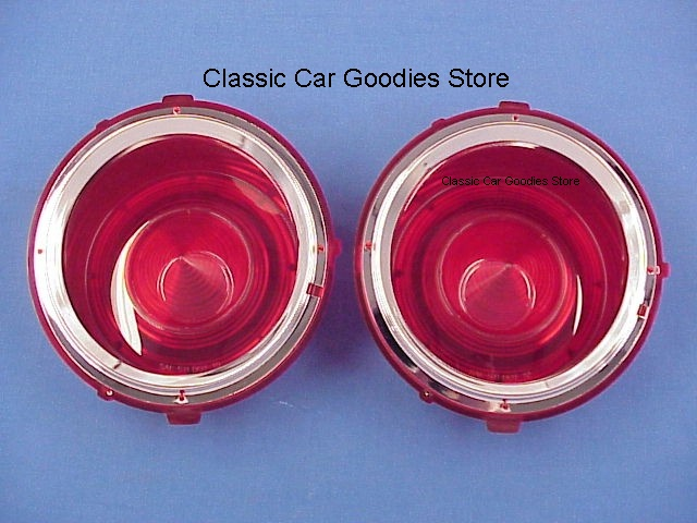 1970-1973 Chevy Camaro Tail Light Lens (2) New! 1971 1972
