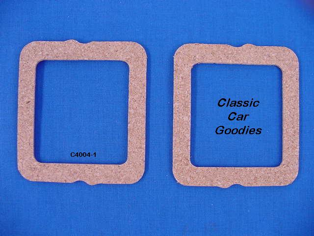1951-1952 Chevy Tail Light Lens Gaskets. Cork. (2) New!