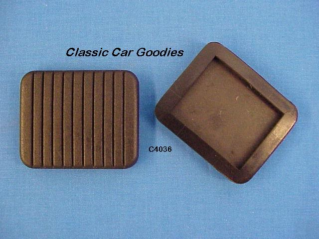 1953 1954 Chevy Clutch & Brake Pedal Pads (2) New!