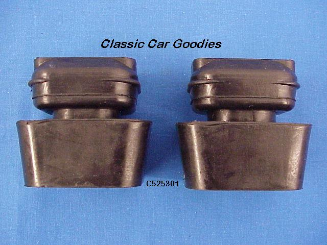 1953-1954 Chevy Motor Mounts New Rubber (2) Both Sides!