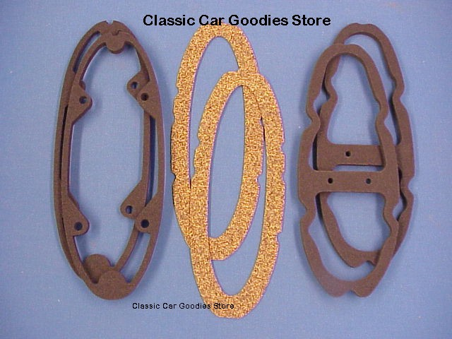 1954 Chevy Tail Light Gaskets Set (6) Brand New!
