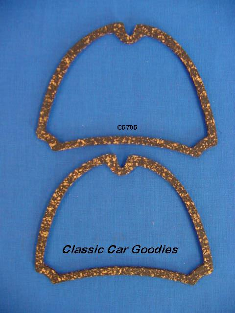 1957 Chevy Cork Tail Light Gaskets. New Pair!