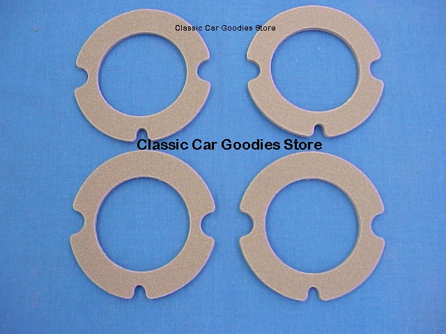 1958 Chevy Park Light Lens Gaskets (4) New!