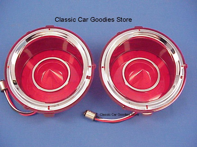 1970-1973 Chevy Camaro Led Tail Lights (2) FREE Flasher Included 1971 1972