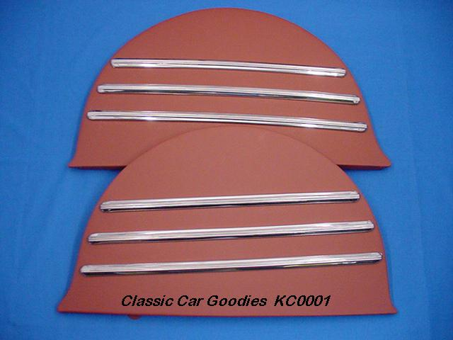1941-1948 Chevy Car Deluxe Fender Skirts. 1942 1946 1947