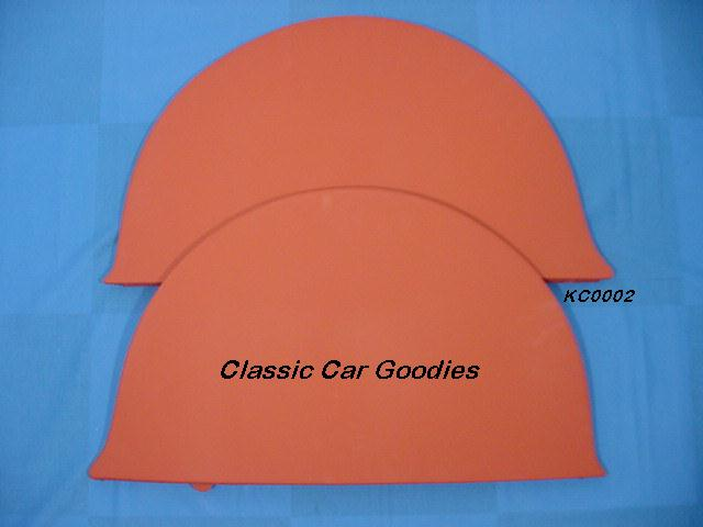1941-1948 Chevy Car Smooth Fender Skirts  1942 1946 1947
