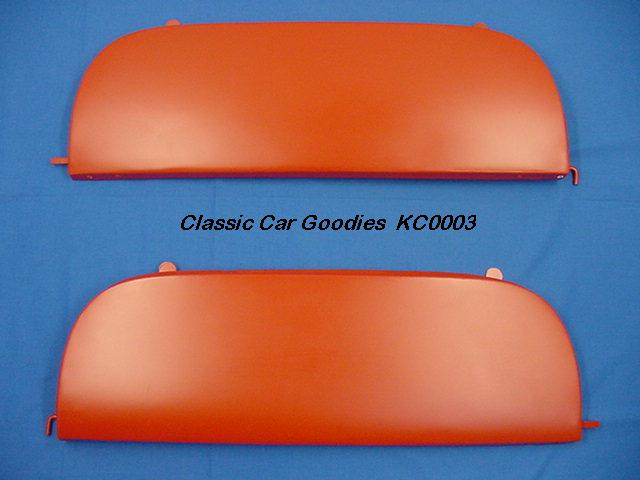 1953-1954 Chevy Car Fender Skirts. New Metal Pair!