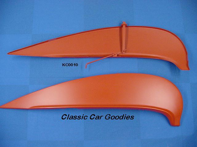 1961 Chevy Fender Skirts Impala Belair Biscayne Metal