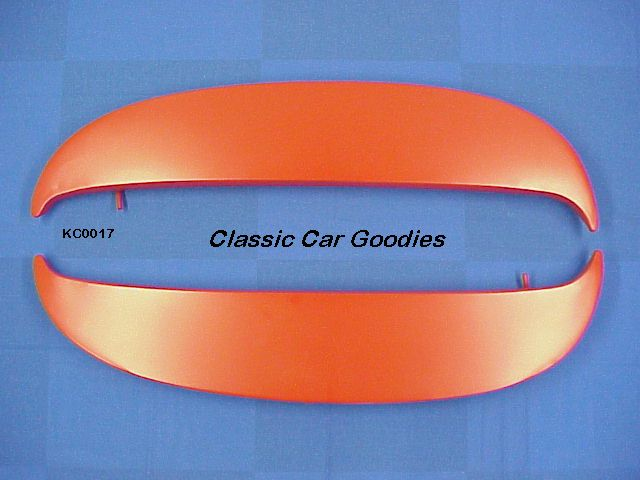 1968 Chevy Caprice Fender Skirts Kit. Metal. New!