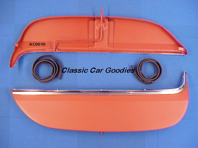 1970-1972 Chevy Monte Carlo Fender Skirts Kit 1971 New!