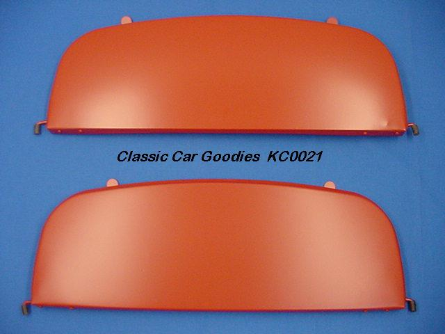 1951-1952 Chevy Deluxe Fender Skirts. New Metal Pair!
