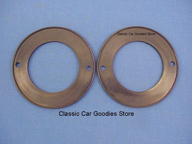 1959 Cadillac Tail Light Gaskets (2) Rubber. New!