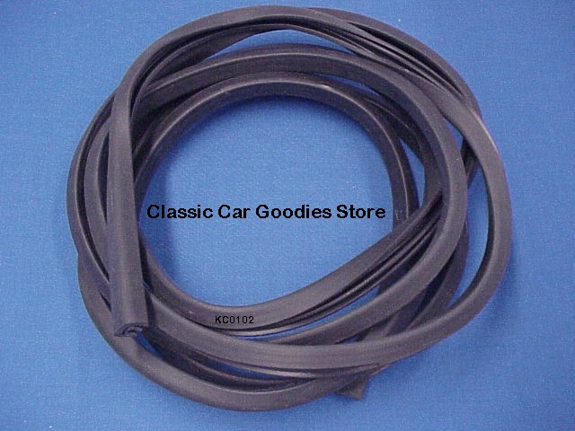 1950-1954 Pontiac Fender Skirt Rubber 1951 1952 1953