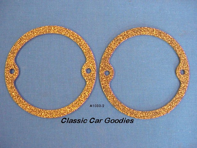 1933-1936 Ford Tail Light Cork Gaskets (2) 1934 1935