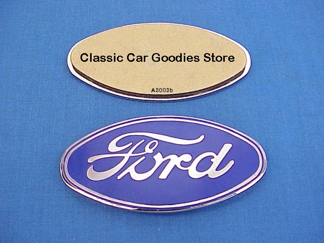 1928-1930 Ford Radiator Shell Emblem Stick On 1929 New!