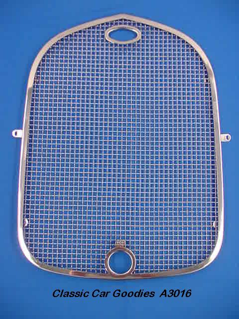 1928-1929 Ford Radiator Stone Guard. Stainless Steel.