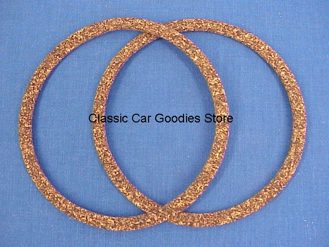 1937 Ford Tail Light Cork Gaskets (2) New!