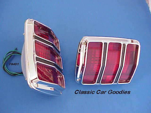 1964-1966 Ford Mustang Tail Lights (2) 1965 Brand New!