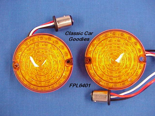 1964-1966 Ford Mustang 48 Led Park Lights. HOT! 1965
