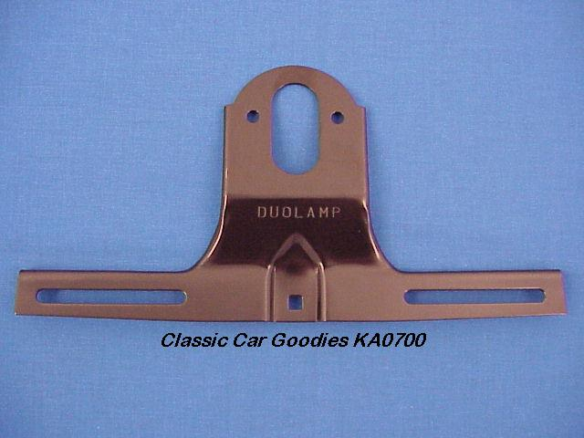1928-1931 Ford License Plate Bracket (1) Black 1929 1930