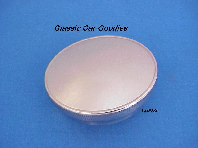 1930-1931 Ford Gas Cap (1) Polished SS Street Rod Smooth