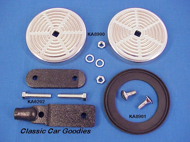 1928 1931 Ford Rumble Seat Step Plate Kit 1929 1930