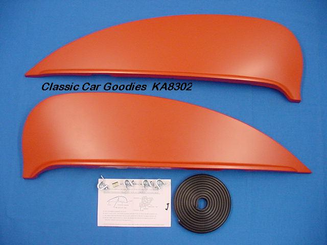 1957-1958 Ford Fender Skirts. Custom Cruiser New Pair!