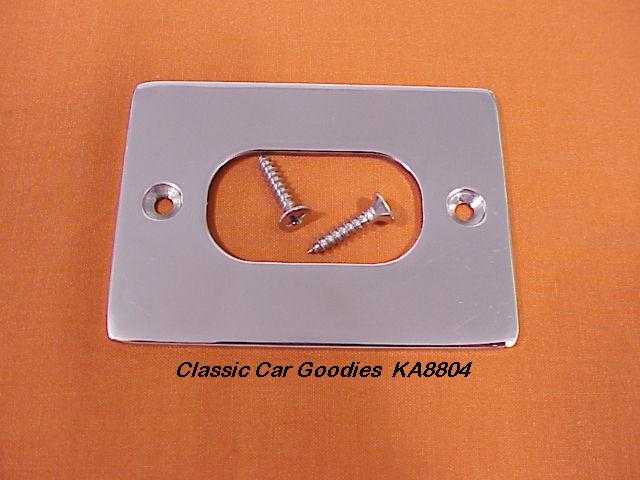 1928-1931 Ford Brake Boot Trim Plate (1) SS 1929 1930