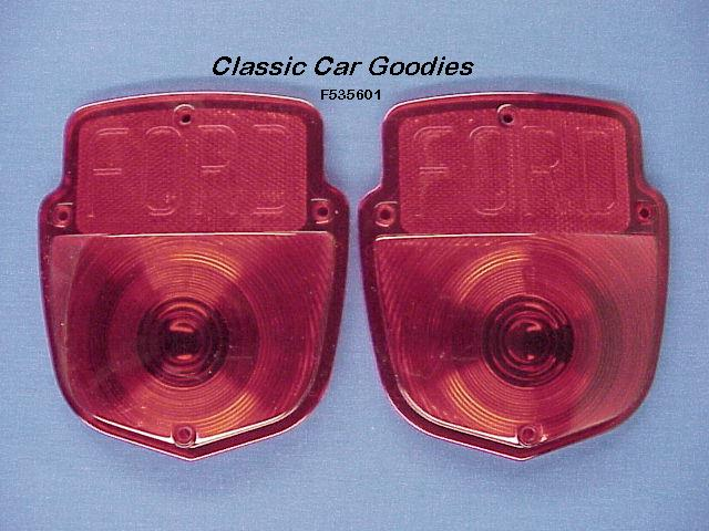 1953-1956 Ford Truck FORD Tail Light Lenses 1954 1955