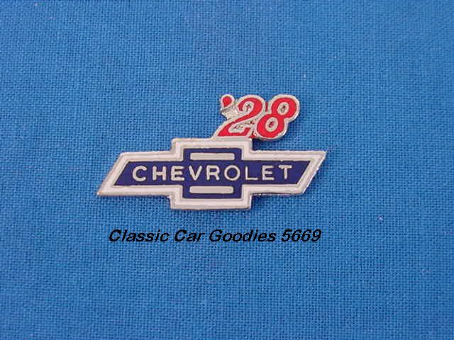 1928 Chevy Bowtie Hat or Vest Pin