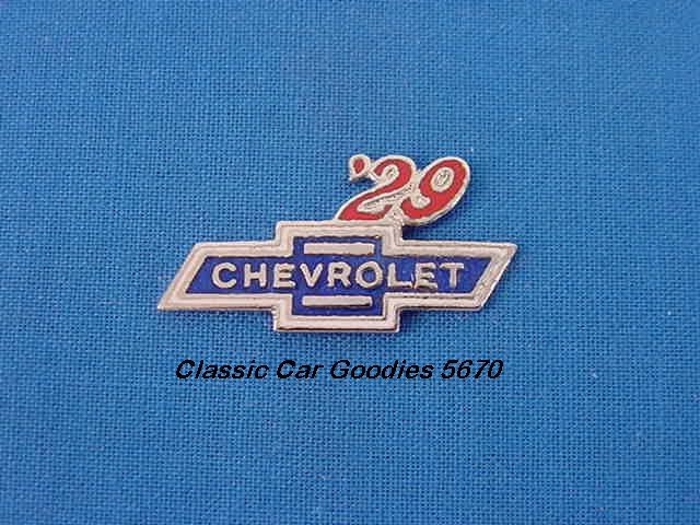 1929 Chevy Bowtie Hat or Vest Pin