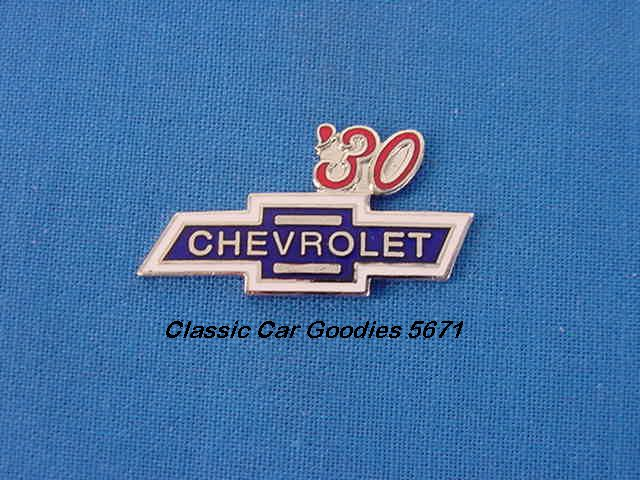 1930 Chevy Bowtie Hat Pin