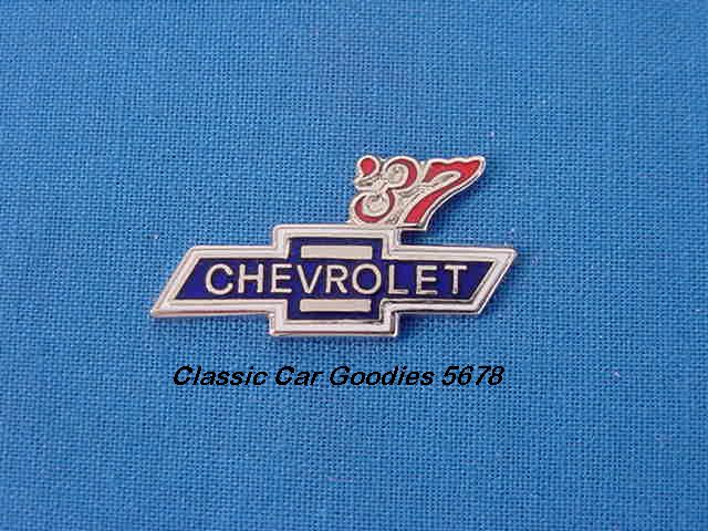 1937 Chevy Bowtie Hat Pin