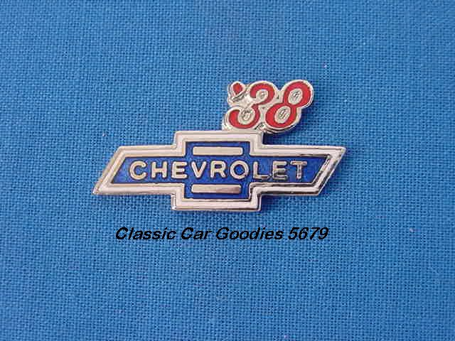 1938 Chevy Bowtie Hat Pin