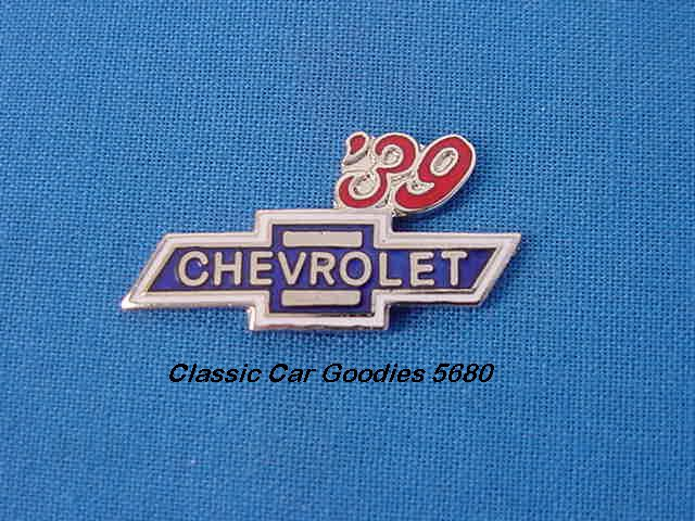 1939 Chevy Bowtie Hat Pin