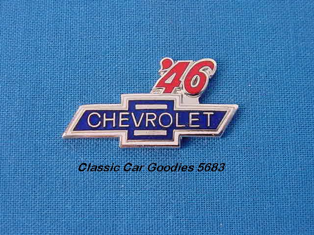 1946 Chevy Bowtie Hat Pin