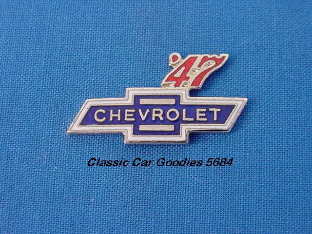 1947 Chevy Bowtie Hat Pin