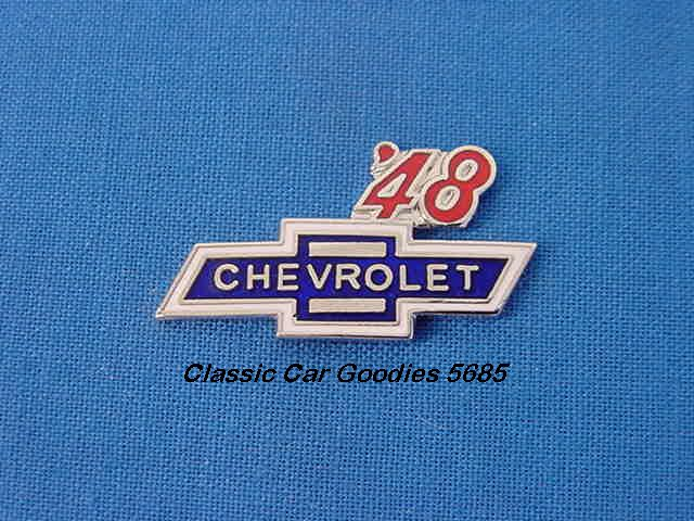 1948 Chevy Bowtie Hat Pin