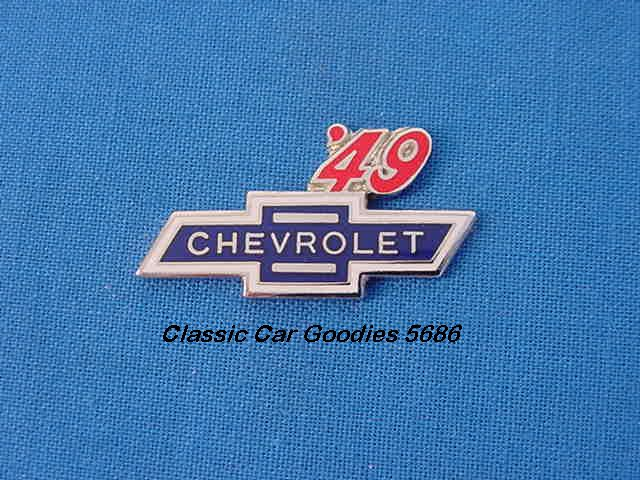 1949 Chevy Bowtie Hat Pin