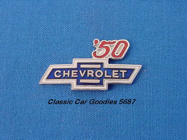 1950 Chevy Bowtie Hat Pin