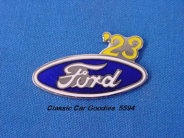 1923 Ford Blue Oval Hat Pin
