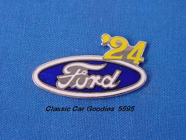 1924 Ford Blue Oval Hat Pin