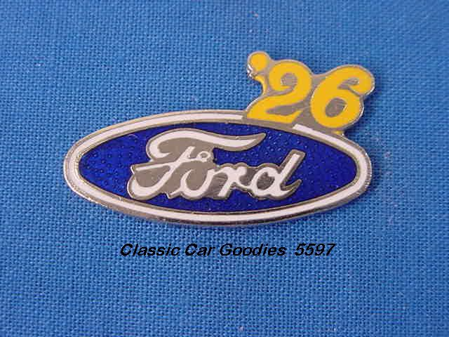 1926 Ford Blue Oval Hat Pin