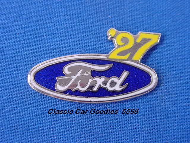 1927 Ford Blue Oval Hat Pin