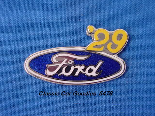 1929 Ford Blue Oval Hat Pin