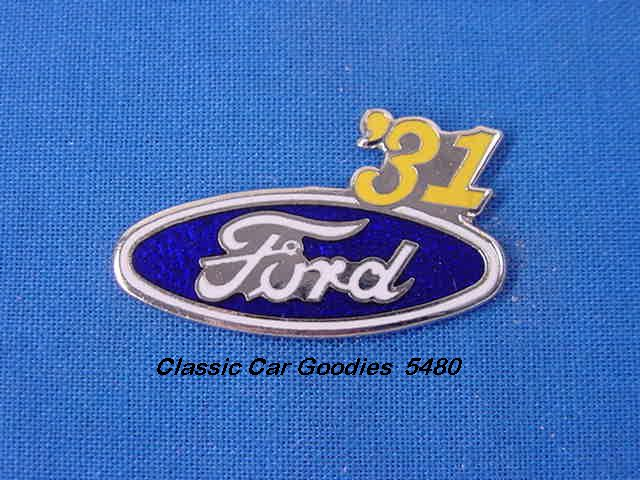 1931 Ford Blue Oval Hat Pin