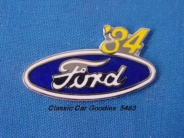 1934 Ford Blue Oval Hat Pin