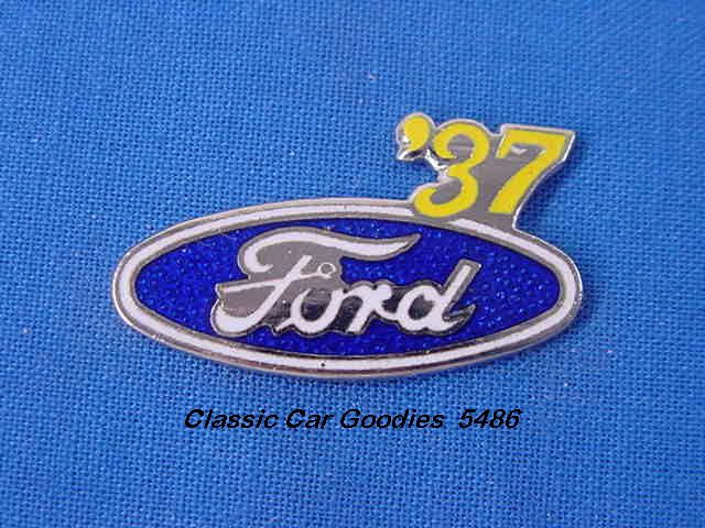 1937 Ford Blue Oval Hat Pin