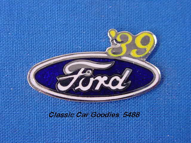 1939 Ford Blue Oval Hat Pin