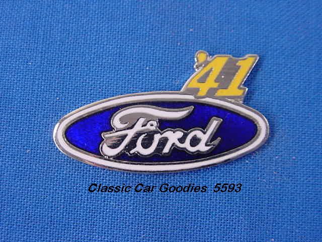 1941 Ford Blue Oval Hat Pin